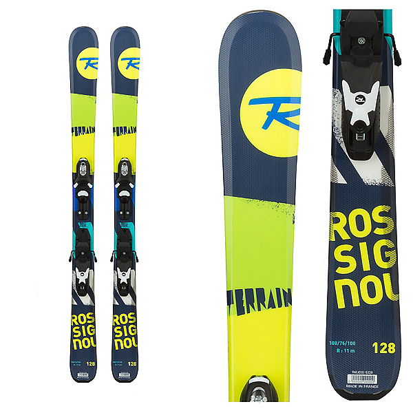 Rossignol Terrain Boy Kids Skis with Kid-X 45 Bindings, , 600