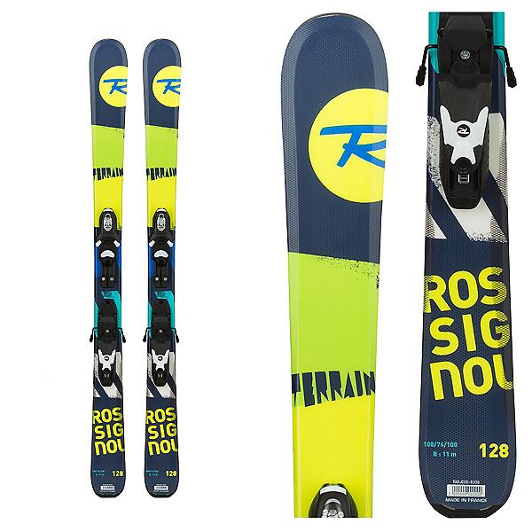Rossignol Terrain Boy Jr. Kids Skis with Xelium 70 Bindings, , 600