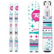 Rossignol Terrain Girl Kids Skis with Xelium 70 Bindings 2016, , medium