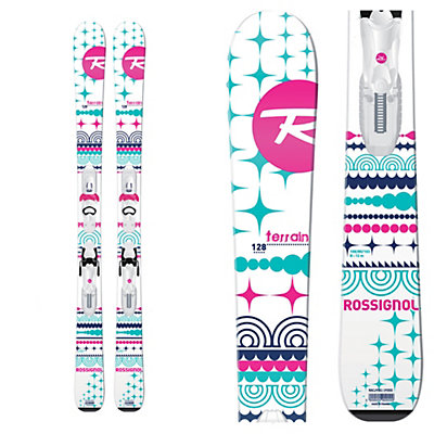 Rossignol Terrain Girl Kids Skis with Kid-X 45 Bindings, , viewer