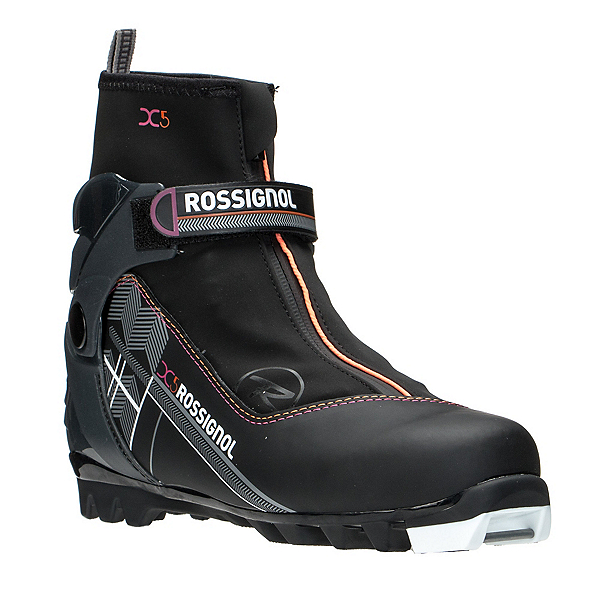 Rossignol X-5 FW Womens NNN Cross Country Ski Boots 2017, Black, 600