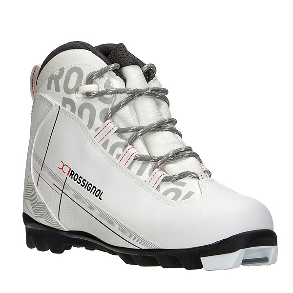 Rossignol X-1 FW Womens NNN Cross Country Ski Boots 2017, White, 600