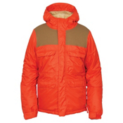 686 Approach Boys Snowboard Jacket, Burnt Orange, medium