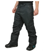 Zonal Redhill Mens Snowboard Pants, Caviar, medium