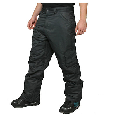 Zonal Redhill Mens Snowboard Pants, Caviar, viewer
