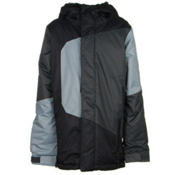 686 Blaze Boys Snowboard Jacket, Black Colorblock, medium