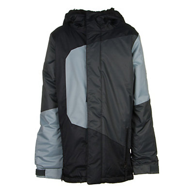 686 Blaze Boys Snowboard Jacket, Black Colorblock, viewer