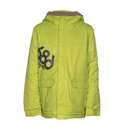 686 Elevate Boys Snowboard Jacket, Lime, 256
