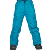 686 All Terrain Kids Snowboard Pants, Blue, medium
