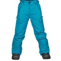 686 All Terrain Kids Snowboard Pants, Blue, 256