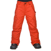 686 All Terrain Kids Snowboard Pants, Burnt Orange, medium