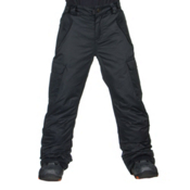 686 All Terrain Kids Snowboard Pants, Black, medium