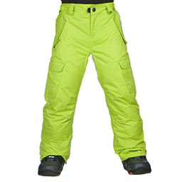 686 All Terrain Kids Snowboard Pants, Lime, 256