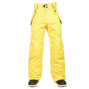 686 All Terrain Kids Snowboard Pants, Yellow, medium