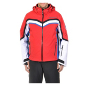 Volkl Yellow Stone Mens Insulated Ski Jacket, Red, medium