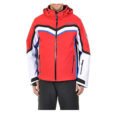 Volkl Yellow Stone Mens Insulated Ski Jacket, Red, viewer