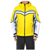 Volkl Yellow Stone Mens Insulated Ski Jacket, Yellow, medium
