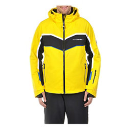 Volkl Yellow Rush Mens Insulated Ski Jacket, Yellow-Black, 256
