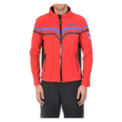 Volkl Yellow Mens Soft Shell Jacket, Red-Black, medium