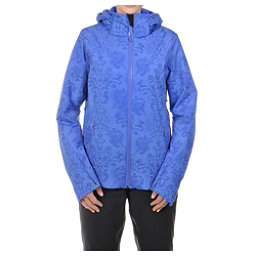 Volkl Silver Star Womens Insulated Ski Jacket, Blue Lace Print, 256