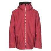Volkl Khula Mens Insulated Ski Jacket, Goon Red Wax, medium