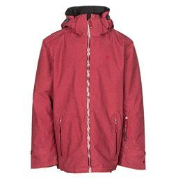 Volkl Khula Mens Insulated Ski Jacket, Goon Red Wax, 256