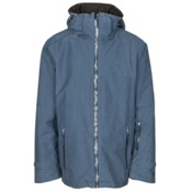 Volkl Khula Mens Insulated Ski Jacket, Denim Wax, medium
