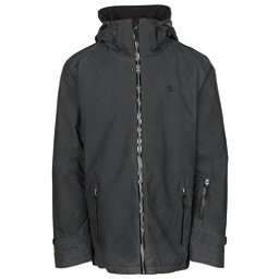 Volkl Khula Mens Insulated Ski Jacket, Black Wax, 256