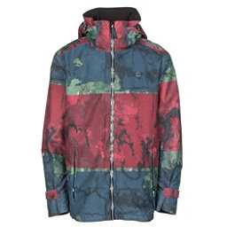 Volkl Khula Mens Insulated Ski Jacket, Raw Goon Red Print, 256