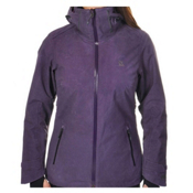 Volkl Manu Womens Insulated Ski Jacket, Blackberry Wax, medium