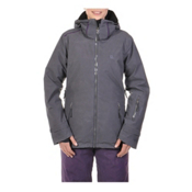 Volkl Manu Womens Insulated Ski Jacket, Metal Wax, medium