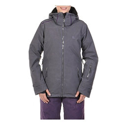 Volkl Manu Womens Insulated Ski Jacket, Metal Wax, 256