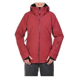 Volkl Manu Womens Insulated Ski Jacket, Goon Red Wax, 256