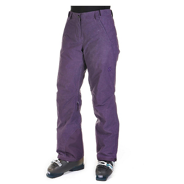 Volkl Nanga Womens Ski Pants, Blackberry Wax, 600