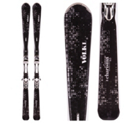 Volkl Charisma Womens Skis with Marker iPT eMotion 11.0 TC Bindings 2016, , medium