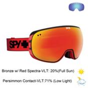 Spy Doom Goggles 2016, Red Fade-Bronze with Red Spectra + Bonus Lens, medium
