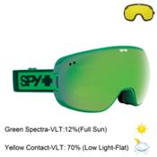 Spy Doom Goggles 2016, Elemental Green-Bronze with Green Spectra + Bonus Lens, medium