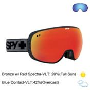 Spy Doom Goggles 2016, Black-Bronze with Red Spectra + Bonus Lens, medium