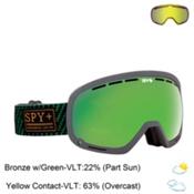 Spy Marshall Goggles 2016, Undercover Green-Bronze with Green Spectra + Bonus Lens, medium