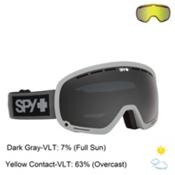 Spy Marshall Goggles 2016, Elemental Gray-Dark Gray + Bonus Lens, medium