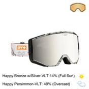 Spy Ace Goggles 2016, Spy + Realtree-Happy Bronze with Silver Mirror + Bonus Lens, medium