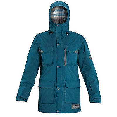 Dakine Mansfield Mens Shell Ski Jacket, Moroccan Blue, viewer