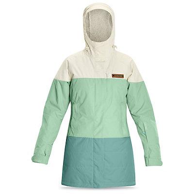 Dakine Sidney Womens Insulated Ski Jacket, Falcon-Black-Turtledove, viewer