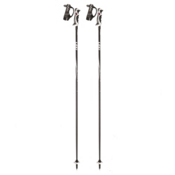 Leki Speed S Ski Poles 2017, Black-White-Silver, medium