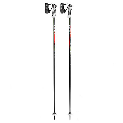 Leki Spark S Ski Poles 2017, Anthracite-Red, viewer