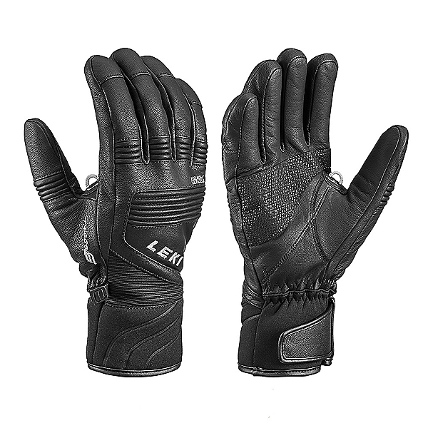 Leki Elements Platinum S Gloves, Black, 600