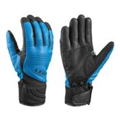 Leki Elements Platinum S Gloves, Ocean-Black, medium