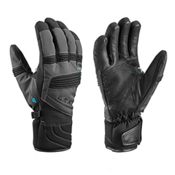 Leki Elements Palladium S Gloves, Charcoal, medium