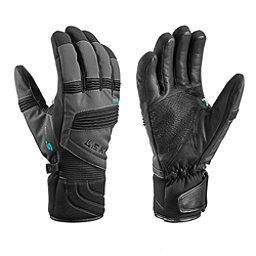 Leki Elements Palladium S Gloves, Charcoal, 256