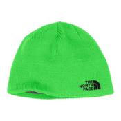 The North Face Youth Bones Kids Hat, Krypton Green-TNF Black, medium